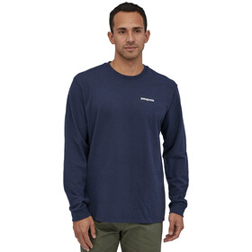 Patagonia P-6 Logo T-shirt Manches longues Homme, classic navy